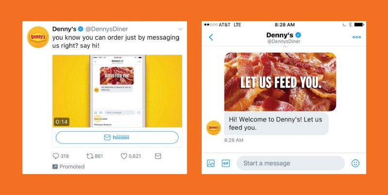 Let Denny's feed you.