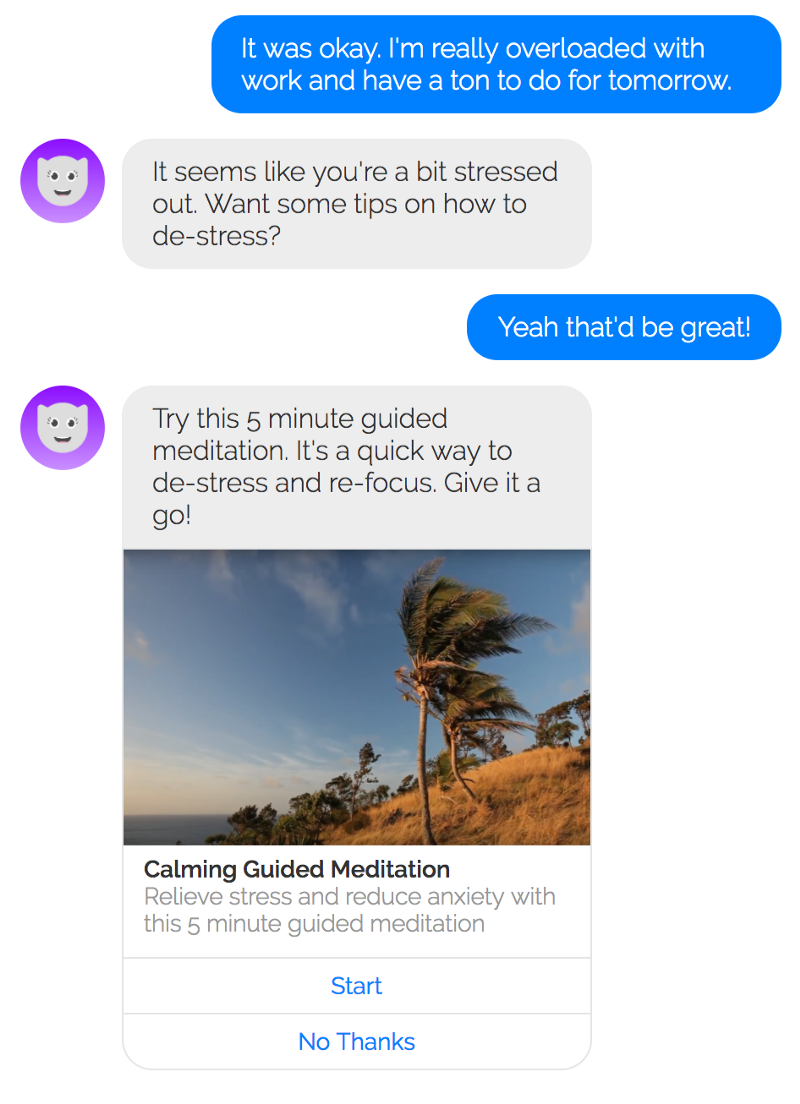 HelloJoy's messaging. On point.