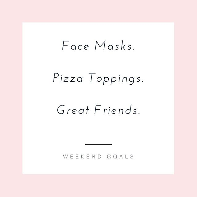 This weekend is the quiet before the storm. Next week I'll be at @masswomen conference representing @oneforwomen and then I'm off to #NYC the following week for the @wearewomenowned market. Before it all starts, I'm taking some time with some good friends doing the things I love – at-home spa night and make-your-own pizzas! What more does a girl need? What's on your list for this weekend?⠀⠀⠀⠀⠀⠀⠀⠀⠀ .⠀⠀⠀⠀⠀⠀⠀⠀⠀ .⠀⠀⠀⠀⠀⠀⠀⠀⠀ . ⠀⠀⠀⠀⠀⠀⠀⠀⠀ #weekendinspiration #weekendadventure #weekendtrip #girlstrip #weekendrelaxation #relax #selfcare #weekendgetaway