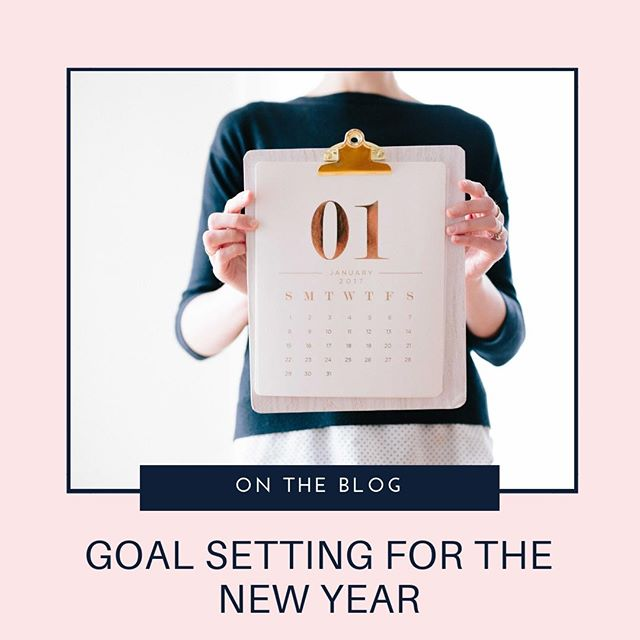 I'll be honest, I struggle with goal setting. I get really caught up in wanting optimistic but realistic goals, and the feeling of stress if I don't achieve those goals. That said, I still believe that goal setting is really important. I like new years because they feel like fresh starts to me and so I think now is the perfect time to figure out my goals for 2019. Figuring out my goals forces me to work through what is important for me in the new year and what is less important, and having my goals outlined in a clear manner helps me when I craft my strategy for my business. On the blog this week (link in bio) I'm sharing with you my best tips for setting and keeping your biggest business goals, but I'm curious – what tricks have you found work for your own goal-setting?⠀⠀⠀⠀⠀⠀⠀⠀⠀ .⠀⠀⠀⠀⠀⠀⠀⠀⠀ .⠀⠀⠀⠀⠀⠀⠀⠀⠀ . #blog #businesstools #business #startup #entrepreneur #sidehustle #leapoffaith #businessadvice #startabusiness #quityourdayjob #quityour9to5 #dreamchaser #dreams #daydreamer  #goadiaries #goalsetters