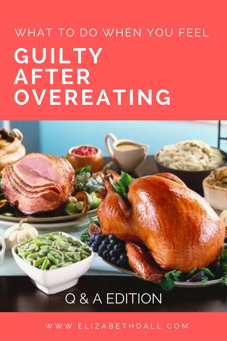 In this blog post, I will take you through some commonly asked questions about overeating and what to do when you feel guilt, frustration, or lack of control with food.