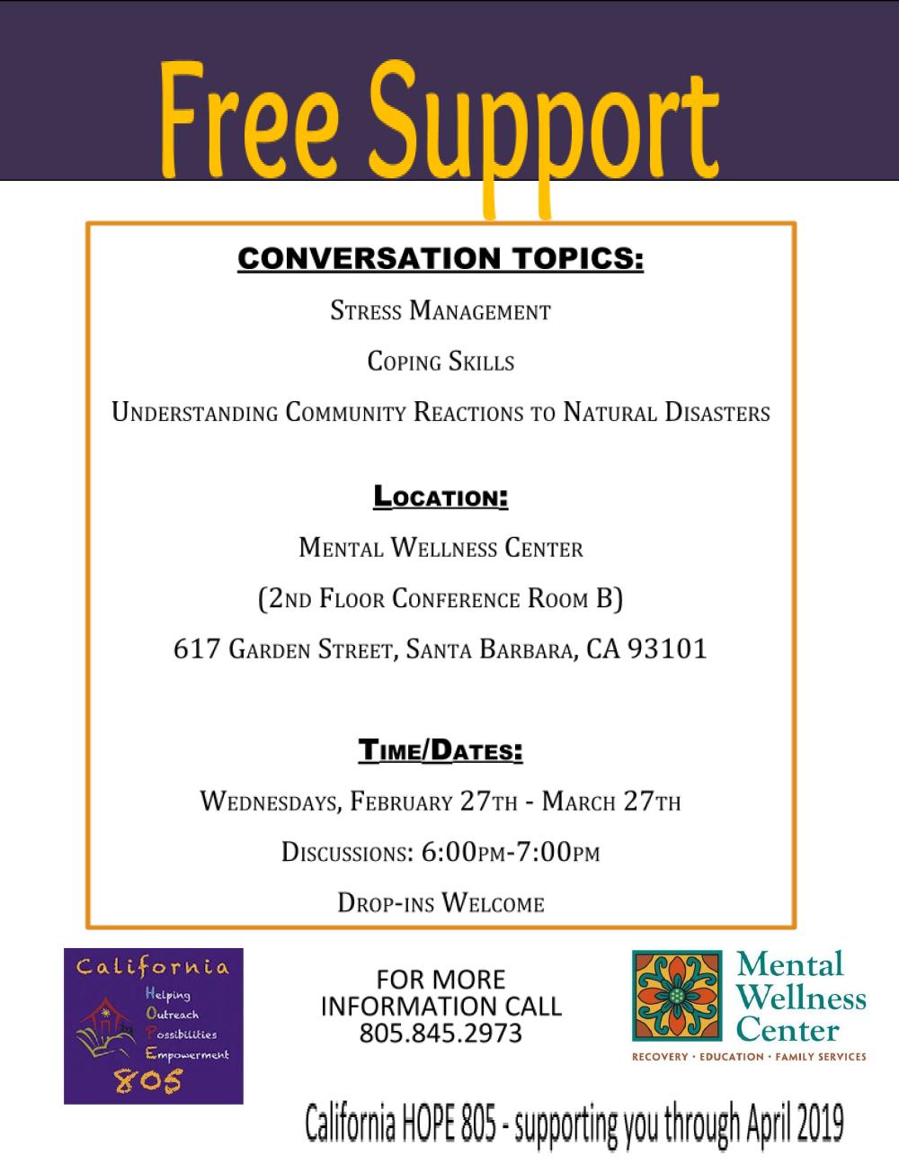 Hope 805 Mental Wellness Center