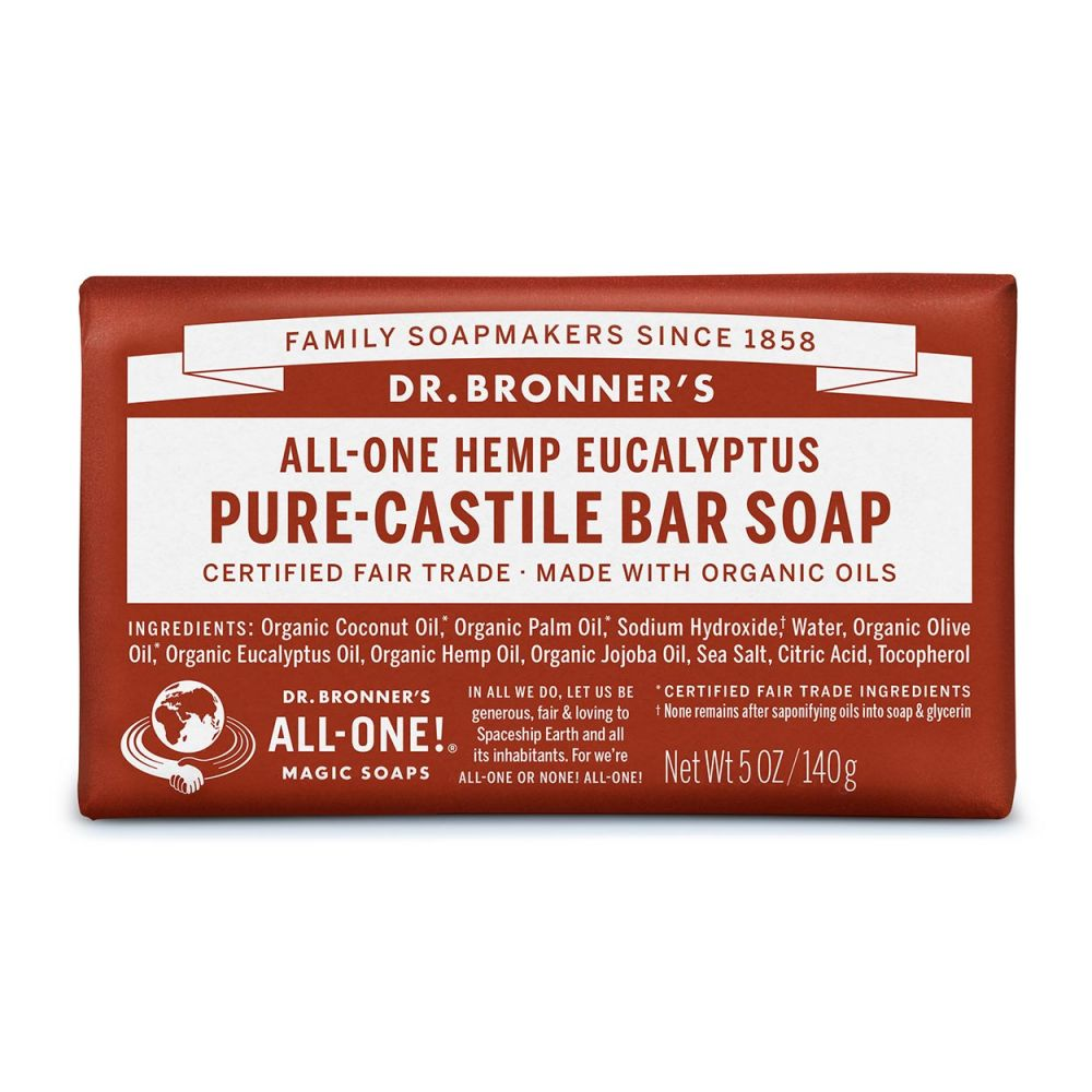 Dr. Bronner's Eucalyptus Bar Soap