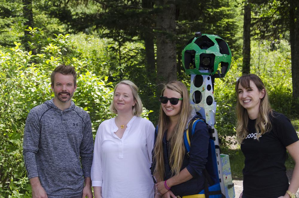 Representatives from Northern BC Tourism, Destination BC & Google