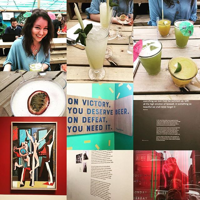 Picasso and Elba exploits 😬💖 Love you to the moon and back - when art and alcohol flies inspiration thrives - can't wait to work with you again! Feminism and film #tatemodern