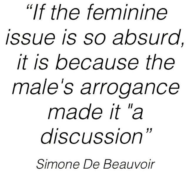 #simonedebeauvoir #feminism #feminist #femininecondition