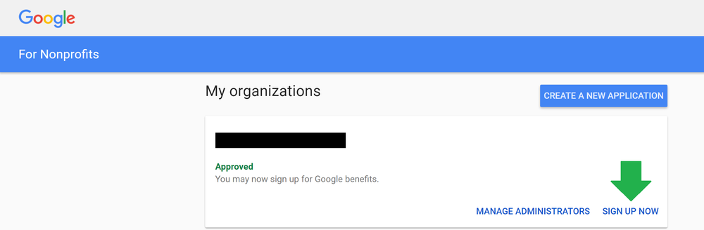 Google for nonprofits sign in