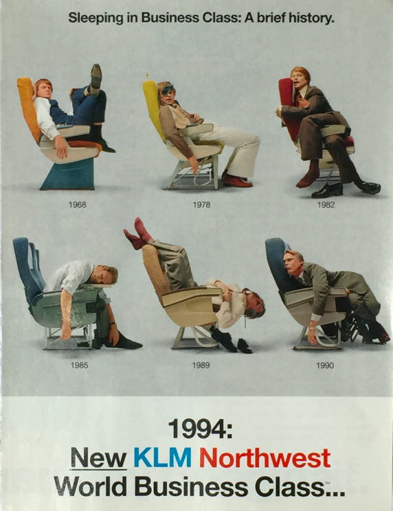 KLM Northwest advert