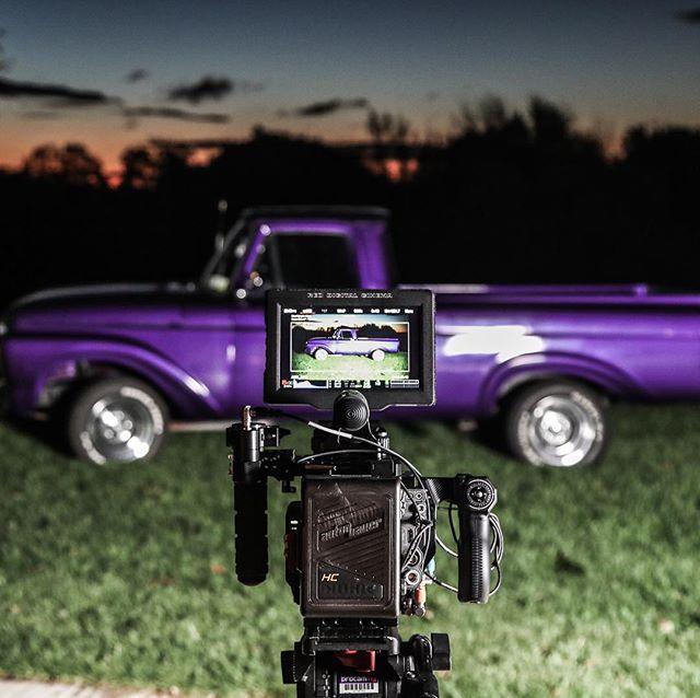 1961 Ford Pick Up, @reddigitalcinema 8k Monstro, and a beautiful fall sunrise. . . 📸 - @willbakerdp