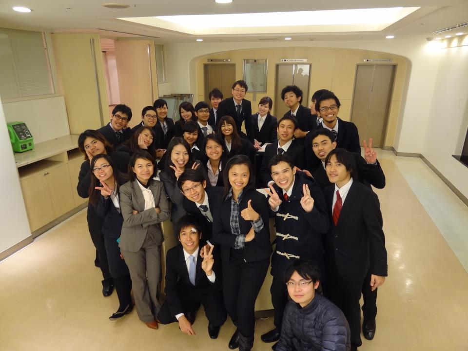 ASEANからの留学生のキャリア支援のときに
