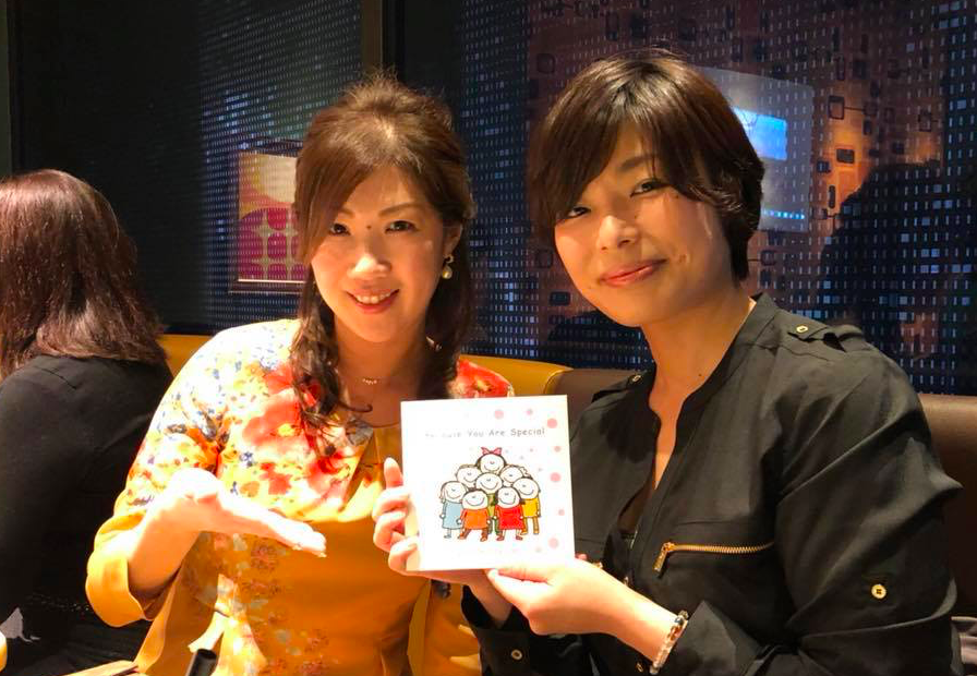 """Because You Are Special"" talk show & publication party in Tokyo (Shibuya)! 40 seats were sold out quickly. Our CEO Naomi Osawa shared with the audience the secret story behind translating the book. Thank you for everyone who came and supported the event! YOU ARE SPECIAL!!!!!"