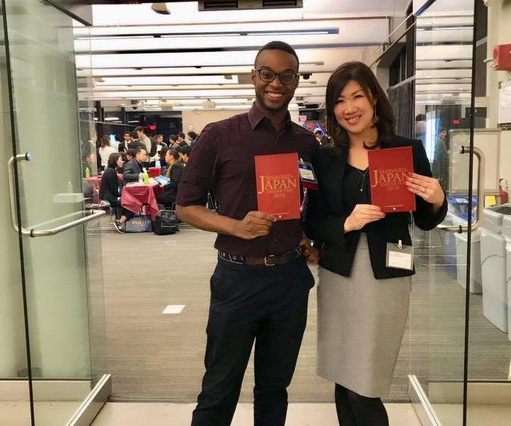 New York Career Academy, Inc. participates in Harvard Japan Career Fair every year to provide helpful career information and advising to the students and recent graduates interested in obtaining jobs in Japan or working for Japanese companies abroad. (Left; Mr. Stéphane Emmanuel Fouché, the Founder of HJCF/ Right: Naomi Osawa, CEO at New York Career Academy, Inc.)