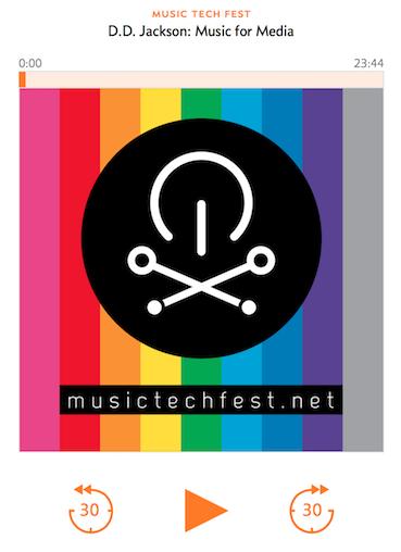 Music Tech Fest - DD Jackson