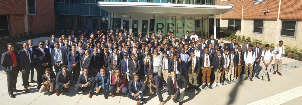 Ron Brown High School Young Kings meet Morehouse College Student Government Association Delegates