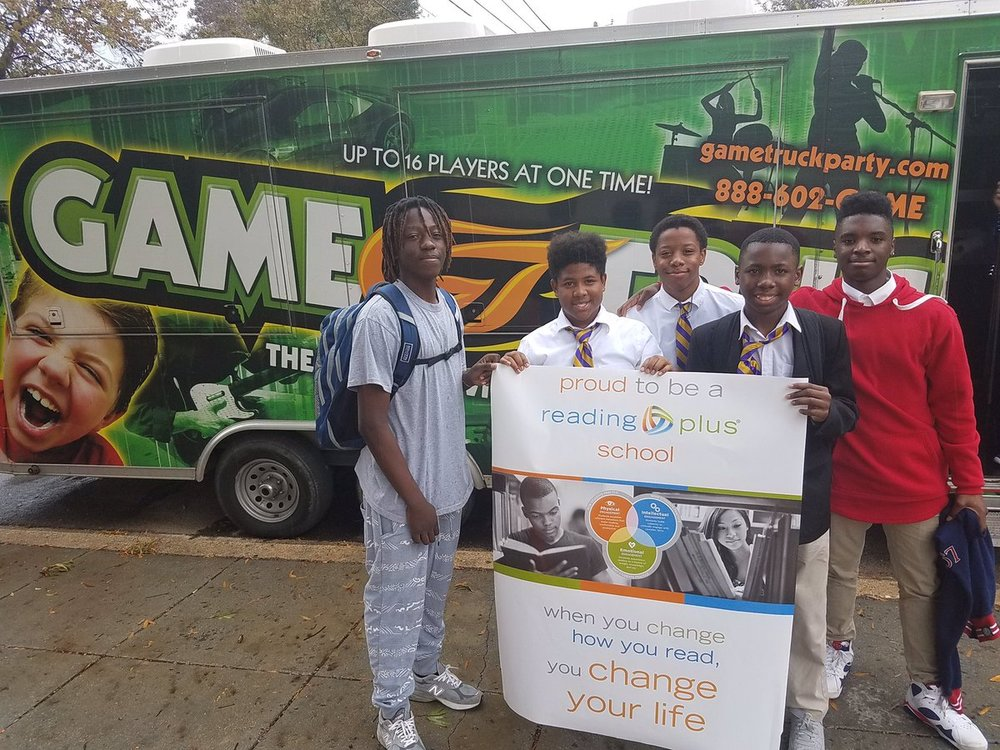 Thank you Reading Plus for sponsoring the Game Truck for our Young Kings with the most Reading Plus hours in October.