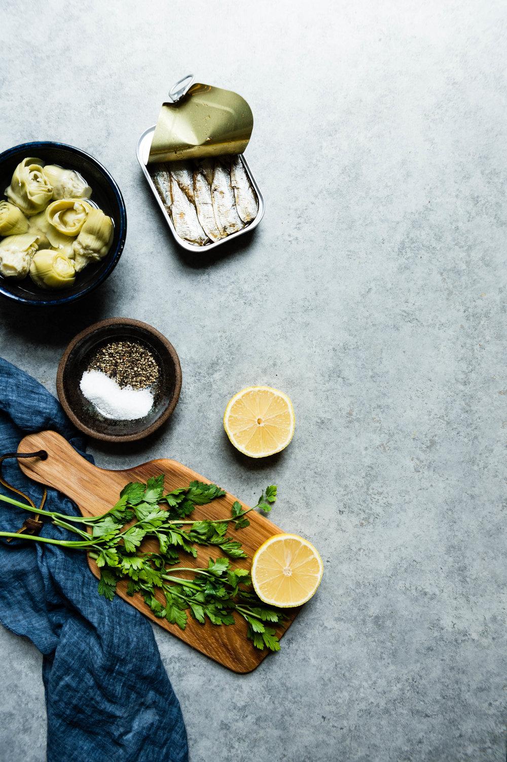 Sardine dip ingredients
