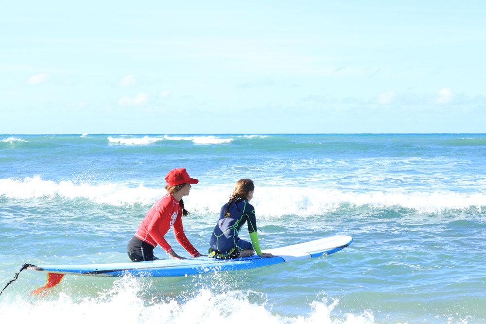 Ko Olina Tandem Surf Lessons