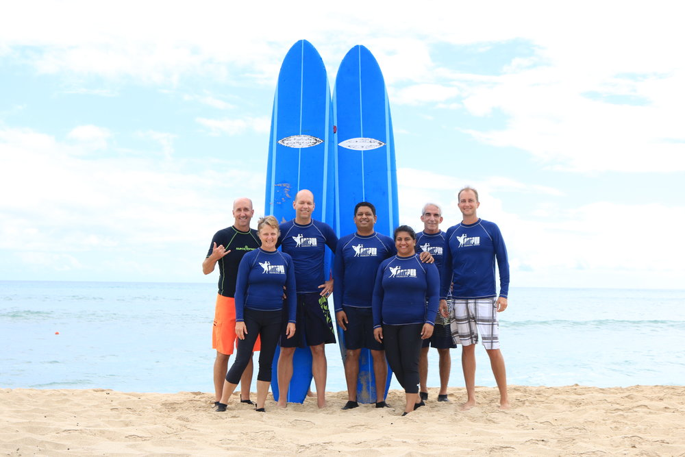 Corporate Surf Events in Ko Olina