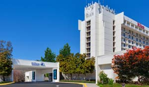 Gaithersburg Hilton 301-977-8900 Deadline: March 29, 2017 Sugarloaf Rate: $74/night + tax (king bed & king bed w/ sleeper sofa) or $85/night + tax (two double beds) 620 Perry Parkway Gaithersburg, MD 20877  Located directly next to fairgrounds Any cancellations must be made 3 business days prior to arrival to avoid penalty