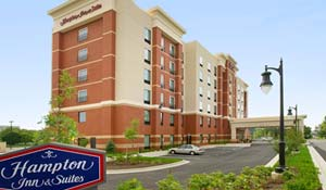 Hampton Inn and Suites Gaithersburg 301-990-4300 Deadline: April 6, 2017 Sugarloaf Rate: $85/night + tax 960 North Frederick Ave Gaithersburg, MD 20879  Complementary Breakfast 0.5 miles from festival site Max. 4 people allowed in 1 room
