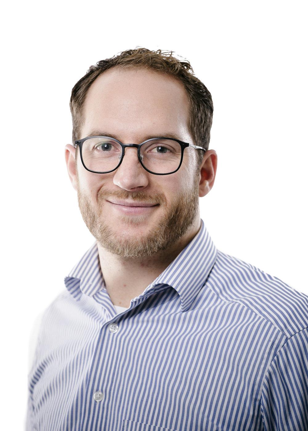 Fabian Klauser,   Head of Services