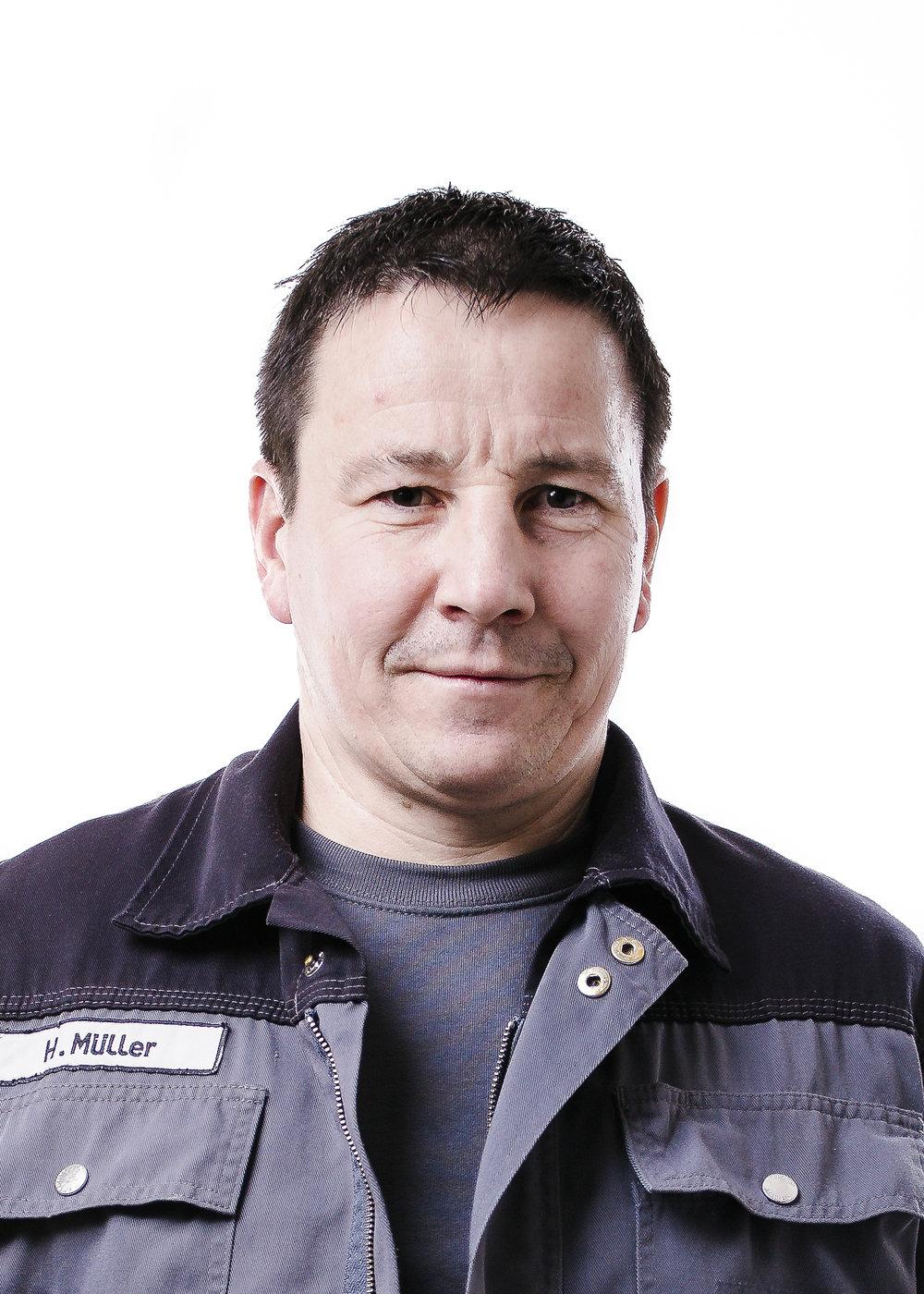 Herbert Müller, Mechanic