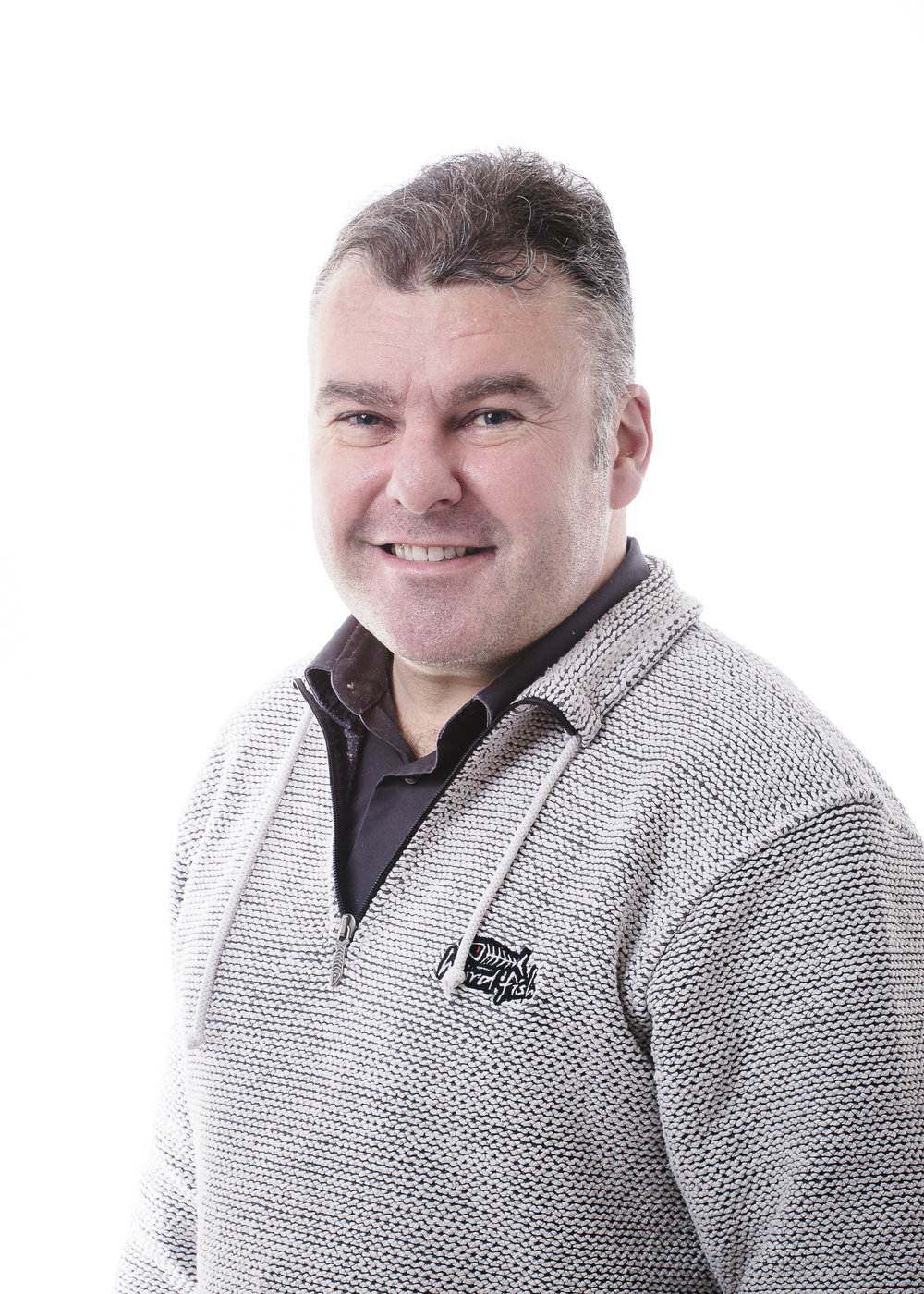 David Woodhead, Technical Support Officer