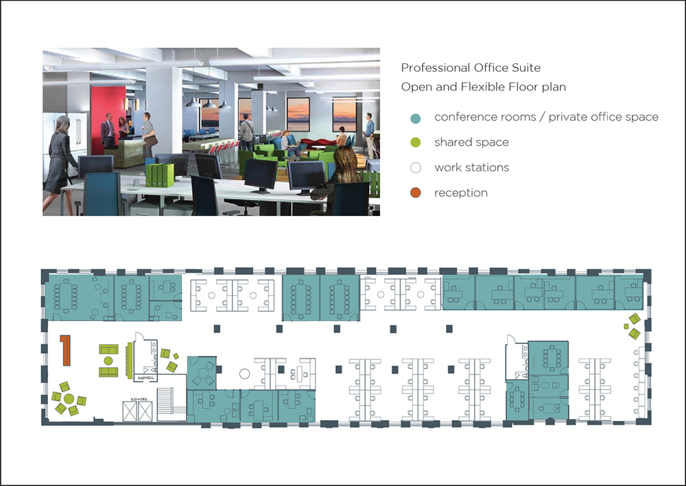 Sample Office Suite Floor Plan