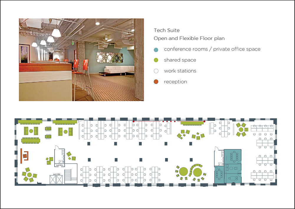 Sample Tech Suite Floor Plan