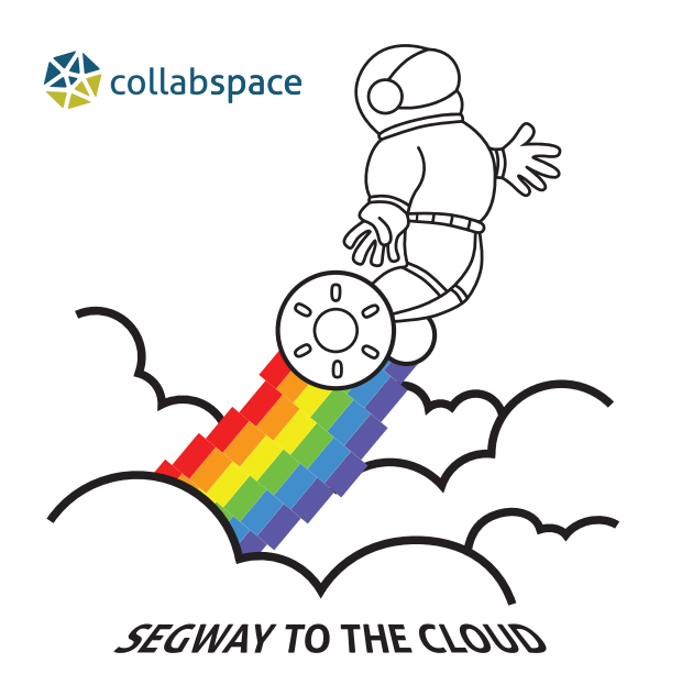 Collabspace Spaceman - Segway to the Cloud