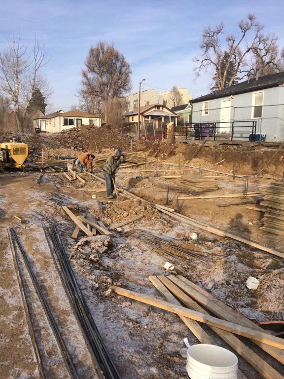 Excavation.