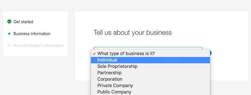 """Αρχικά δηλώστε """" Individual """"."""