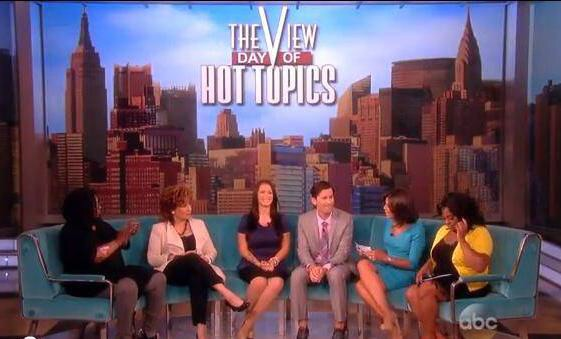 Me & Pastor Craig Gross on ABC's The View.