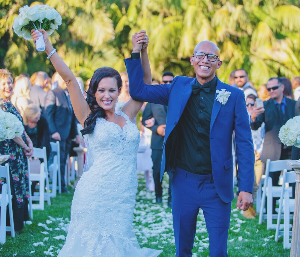 "My husband & I say ""I DO!"" 2/20/2016"