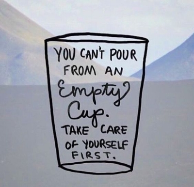 Empty Cup Analogy