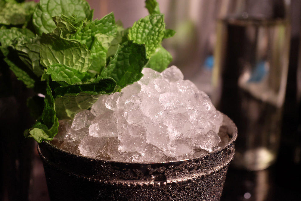 An entire session on crushed ice and its amazing uses. Or as we like to call it, heaven