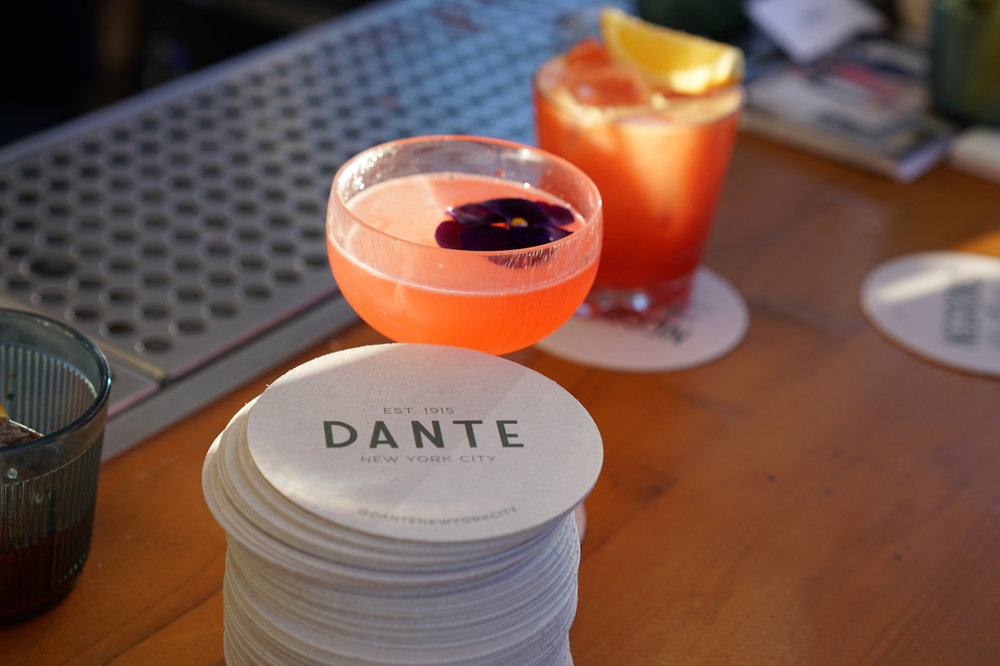 Dante Pop-up at the Broken Shaker in Los Angeles, CA