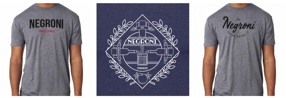 Negroni Week Shirs
