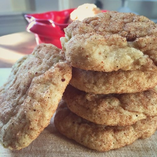 Autumn Apple Cookies -