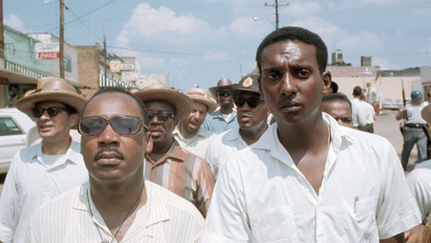 Martin Luther King with Stokley Carmichael