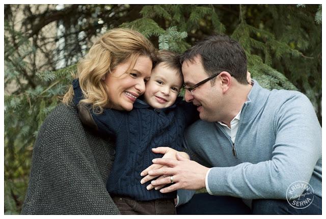 family hug portrait