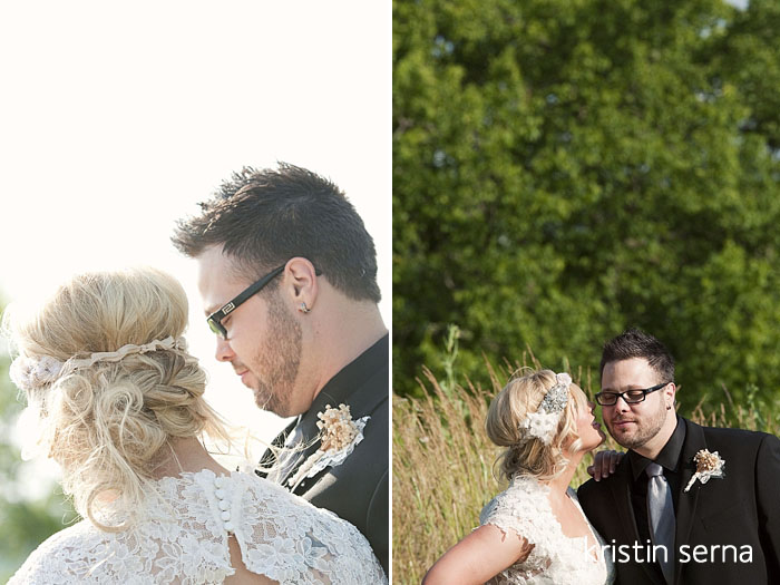 First Look Portraits | Nashville Wedding Photography by Kristin Serna