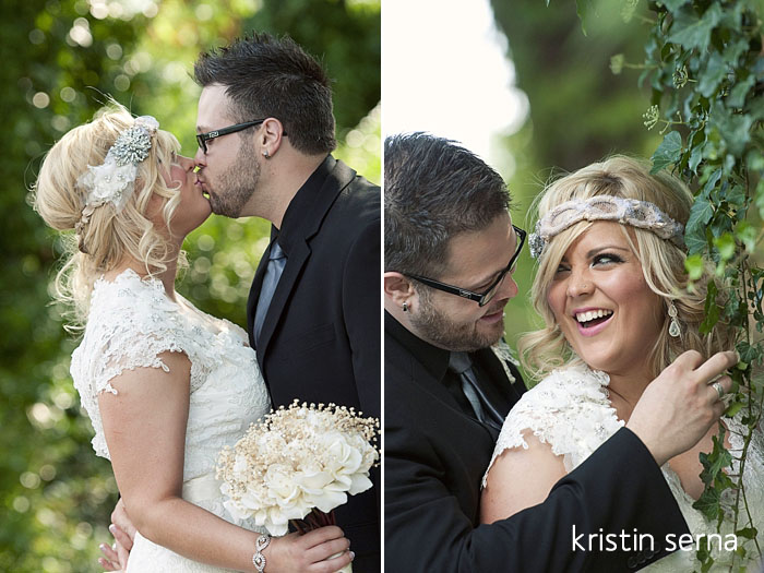 First Look Photos | Nashville Wedding Photography by Kristin Serna