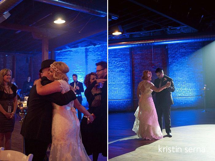 Cannery Ballroom Wedding Photography First Dance | Nashville