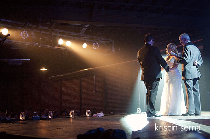Onstage Wedding at Cannery Ballroom in Nashville