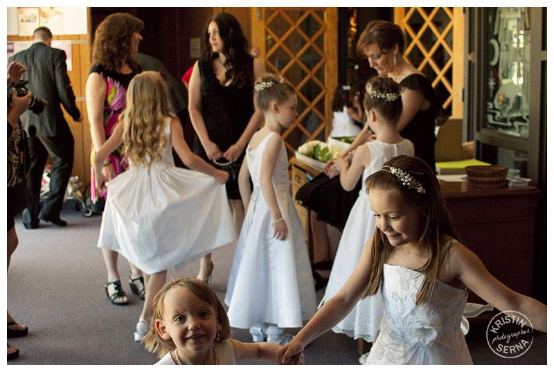 Flowergirls | Kristin Serna Wedding Photographer