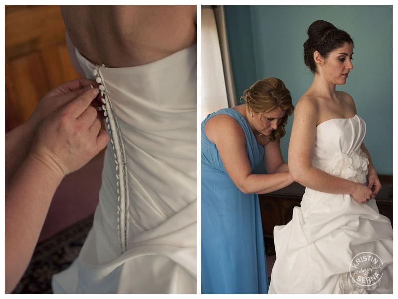 Bride Getting Ready | Kristin Serna Wedding Photography