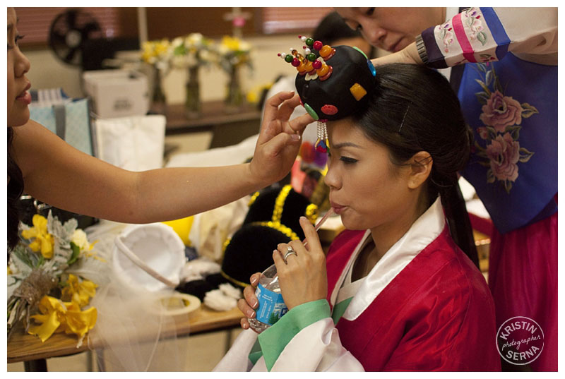 Korean Wedding Getting Ready | Photo by Kristin Serna
