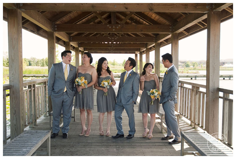 bridal party | photography by Kristin Serna