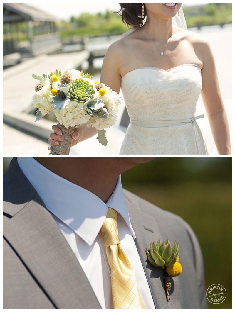 wedding floral details | Kristin Serna